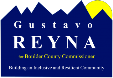 Gustavo Reyna for Boulder County Commissioner